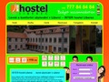 web Inter hostel LIberec