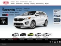 web KIA MOTORS CZECH
