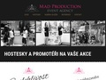 web MAD production event agency