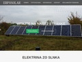 web ERPOSOLAR